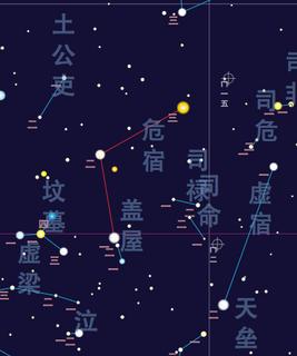 Roof (Chinese constellation) Constellation