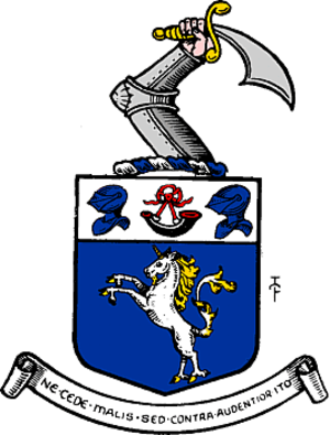 Roxburghshire - Arms of the County of Roxburgh