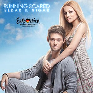 Running Scared (Eldar & Nigar song) - Image: Running Scared cover