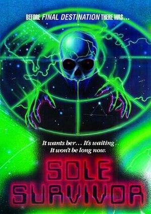 Sole Survivor (1983 film) - Code Red DVD's release artwork