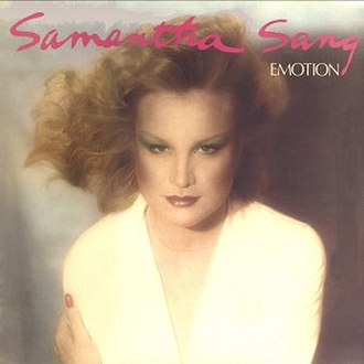 Emotion (Samantha Sang song) - Image: Samantha Sang Emotion