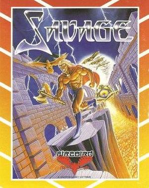 Savage (video game) - Cover art of Savage