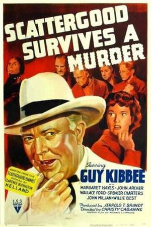 Scattergood Survives a Murder - Theatrical release poster