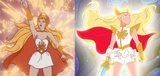 She-Ra Lead character of a 1985 and 2018 cartoon series