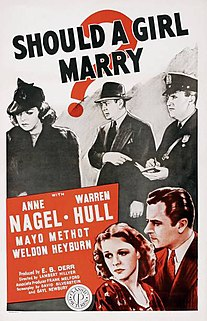 <i>Should a Girl Marry?</i> (1939 film)