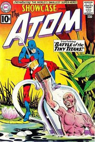 Atom (Ray Palmer) - Image: Showcase 34