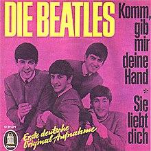 i wanna hold your hand lyrics german