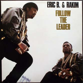 Follow the Leader (Eric B. & Rakim song) - Image: Single Follow the Leader single