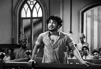 Sivaji Ganesan - The famous court scene from Parasakthi, Ganesan'sdebut film which propelled him to stardom overnight