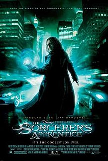 <i>The Sorcerers Apprentice</i> (2010 film) 2010 American film produced by Walt Disney Pictures