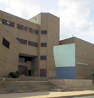 Digital Harbor High School - Southern High School, before renovation