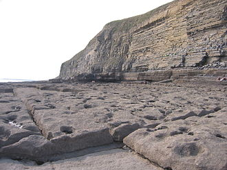 Southerndown - Some of the rock formations