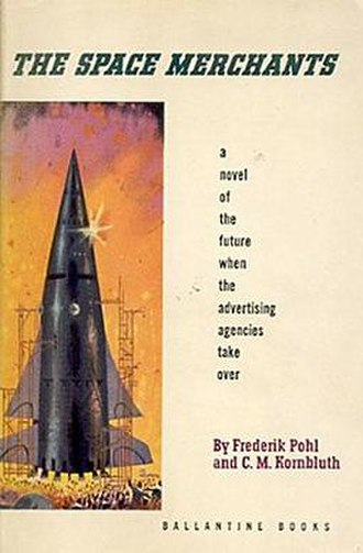 The Space Merchants - Cover of first edition hardcover