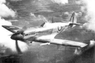 Rolls-Royce Griffon - The first Griffon-powered Spitfire IV, DP845