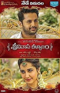 <i>Srinivasa Kalyanam</i> (2018 film) 2018 Indian film directed by Satish Vegesna