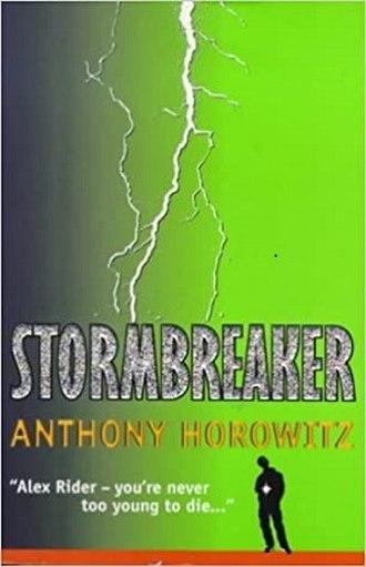 Stormbreaker - US cover