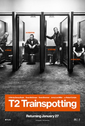 T2 Trainspotting - British release poster
