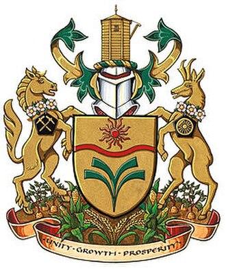Taber, Alberta - Image: Taber AB coat of arms