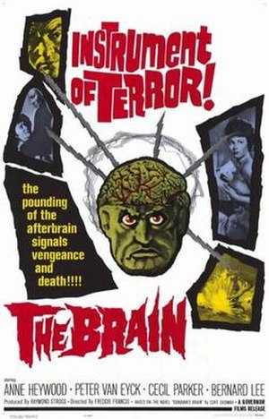 The Brain (1962 film) - Movie poster