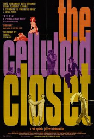 The Celluloid Closet - Movie poster for The Celluloid Closet.
