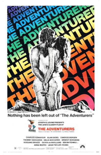 The Adventurers (1970 film) - Theatrical release poster