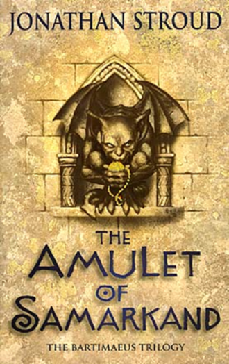 The Amulet of Samarkand - Original cover
