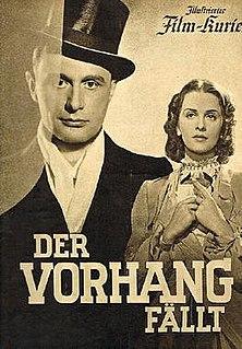 <i>The Curtain Falls</i> 1939 film