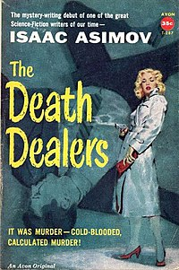 The Death Dealers (Isaac Asimov novel) cover.jpg