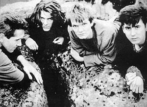 The House of Love - The House of Love, the original line-up (1988), from left to right: Pete Evans, Chris Groothuizen, Guy Chadwick, Terry Bickers