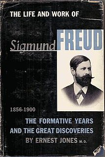 <i>The Life and Work of Sigmund Freud</i> book by Ernest Jones