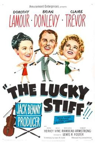 The Lucky Stiff - Theatrical release poster