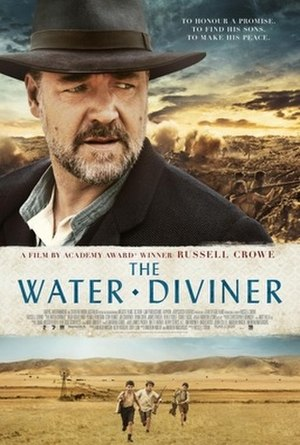 The Water Diviner - Theatrical release poster