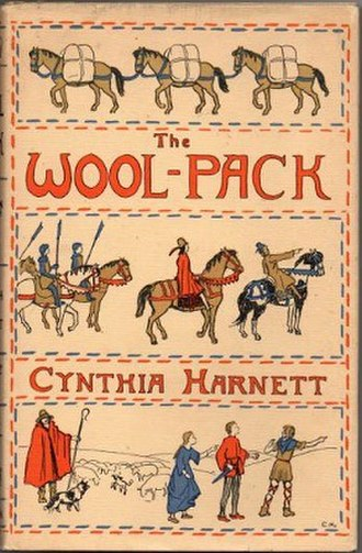 The Wool-Pack - Front cover of the first edition