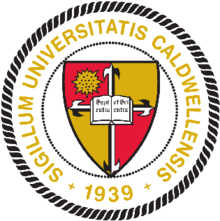 The seal of Caldwell University.png