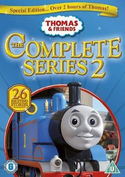Thomas And Friends DVD Cover