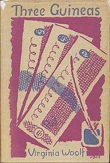 <i>Three Guineas</i> Book-length essay by Virginia Woolf