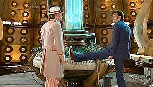 Fifth Doctor - The Fifth Doctor meets the Tenth Doctor.