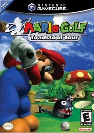 Mario Golf: Toadstool Tour - North American box art