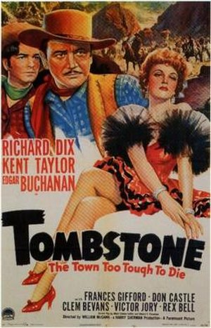 Tombstone, the Town Too Tough to Die - Image: Tombstone, the Town Too Tough to Die Film Poster