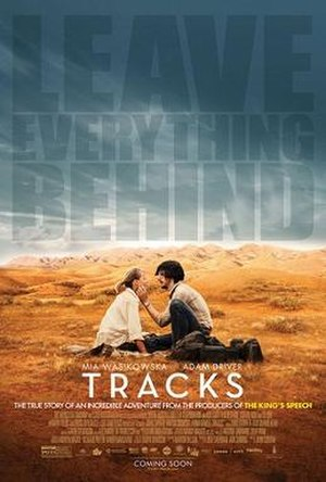 Tracks (2013 film) - Theatrical release poster
