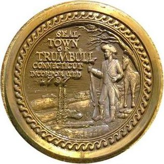 Trumbull, Connecticut - Image: Trumbullseal