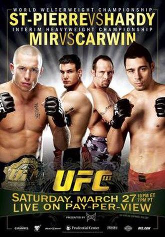 UFC 111 - Image: UFC 111 Poster