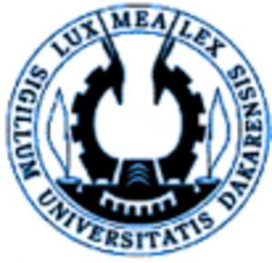 Cheikh Anta Diop University - Image: Ucd dakar logo