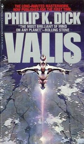 VALIS - Cover of first edition (paperback)