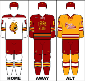 Ferris State Bulldogs men s ice hockey - Wikipedia 562e4fe4e01
