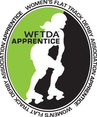 WFTDA Apprentice Program - Image: WFTDA Apprentice logo