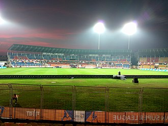 FC Goa - Fatorda Stadium, the home of FC Goa