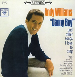 Danny Boy and Other Songs I Love to Sing - Image: Williams Danny