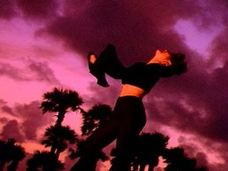 "What Made You Say That - Shania in the video for ""What Made You Say That""."