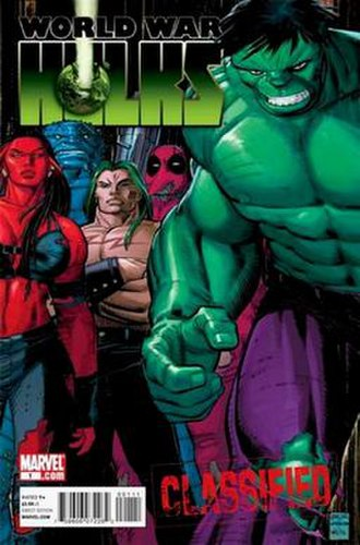 World War Hulks - Cover of the 1st issue